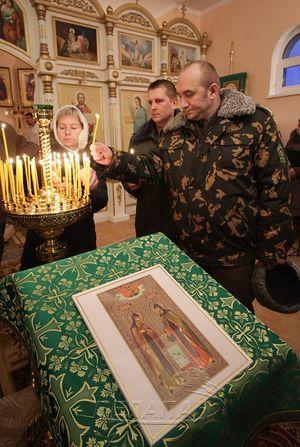 Храм-часовня открыт в Брестской пограничной группе