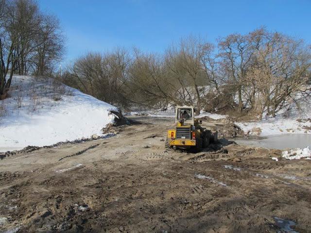 Продолжается строительство нового въезда в Брестскую крепость