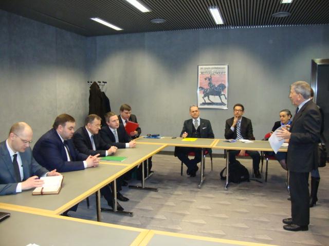 Председатель облисполкома К.А.Сумар во главе делегации посетил Итальянскую Республику