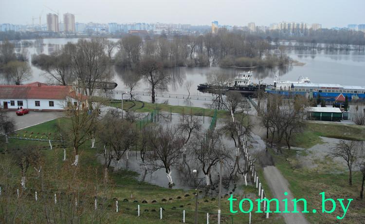 В город пришла большая вода