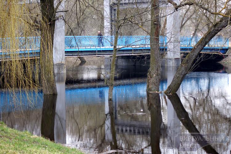 В Брестской крепости отмечено значительное повышение уровня воды