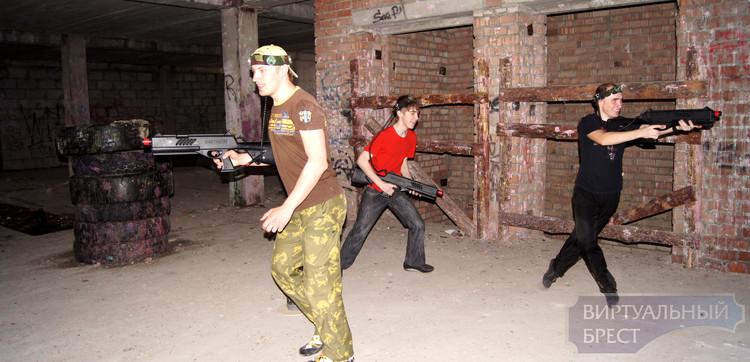 В Бресте появился лазертаг - ожившая компьютерная игра Quake