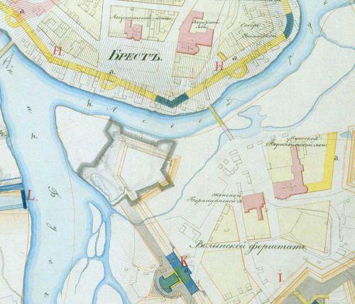 Брестский замок и крепость: история и место его расположения в период крепостного строительства