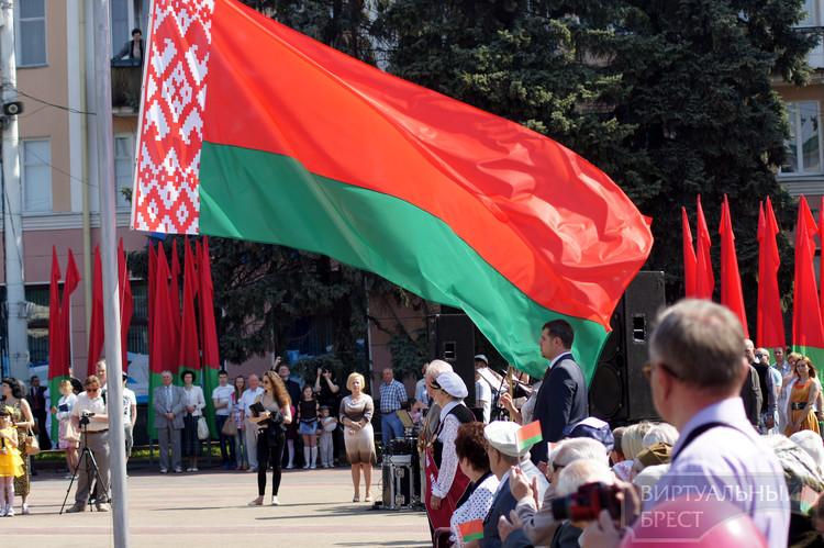 Торжественная церемония, посвященная Дню государственного герба и флага, прошла в Бресте