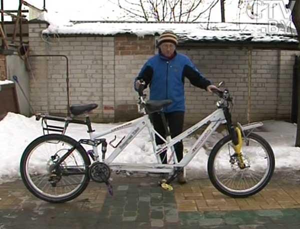 Брестчанин создает эксклюзивные модели велосипедов