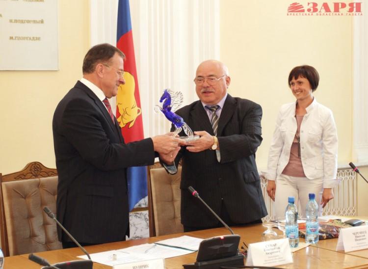 Члены Союза писателей Беларуси посетили Брест