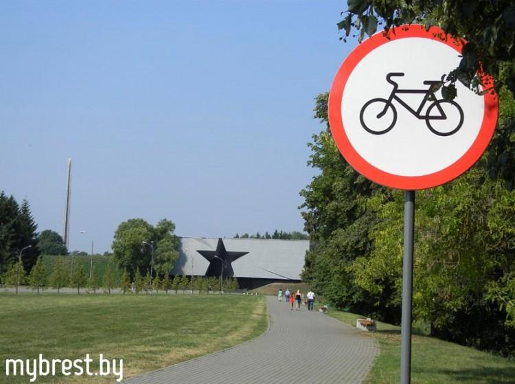 Разработана схема движения велосипедистов по Брестской крепости - фото.
