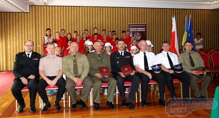 Пожарно-спасательные службы Брестчины и Подлясского воеводства договорились о сотрудничестве