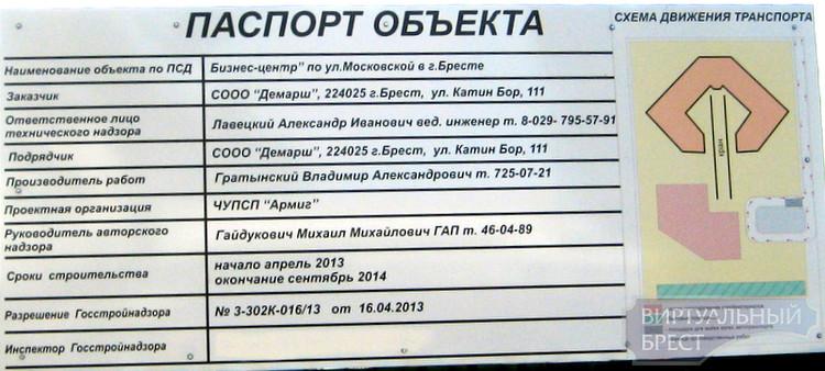 Бизнес-центром больше, бизнес-центром меньше... Ещё один строят на ул. Московской