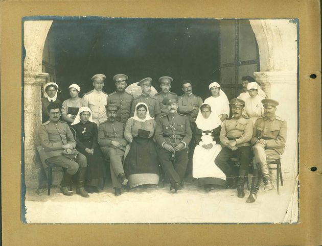 Фото в блоге: военный госпиталь в Брест-Литовске, 1914 год