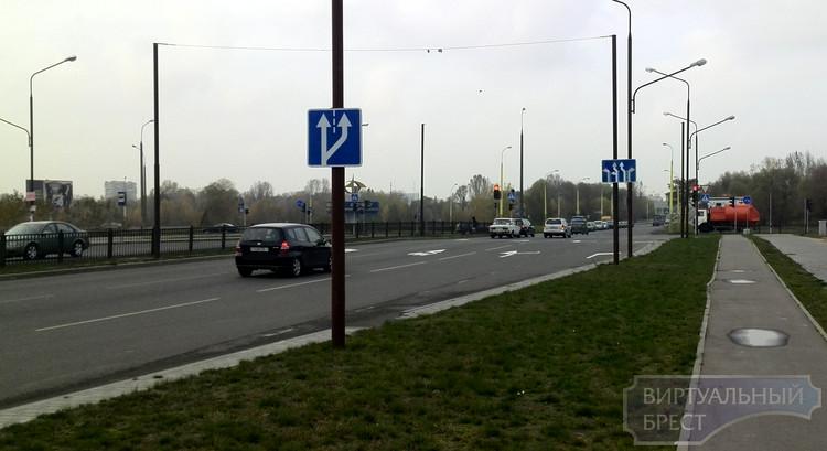 Изменены правила движения на перекрёстке Махновича - Варшавское шоссе