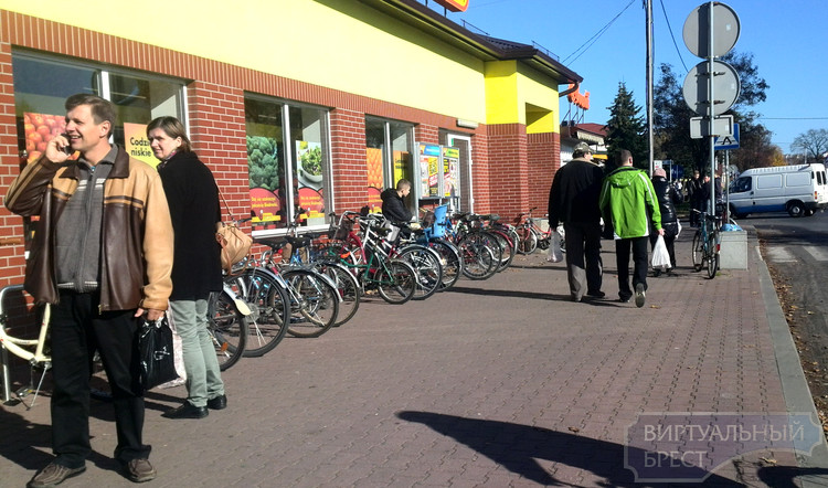 Брестские велосипедисты съездили в Польшу и покатались на горных лыжах