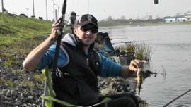 На гребном канале прошёл чемпионат по ловле рыбы