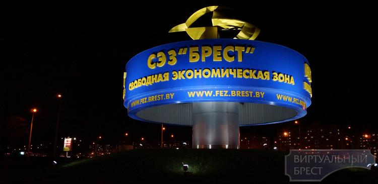 Ночной Брест - с фотоаппаратом по городу