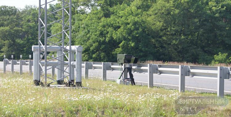 Лазерная камера Poliscan появилась на дорогах Брестчины