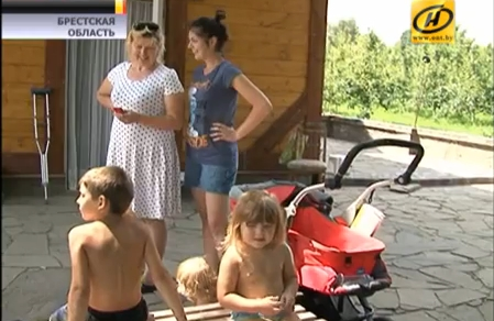 Брестская семья приютила у себя жителей Донецка