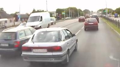 В прямом эфире... Как водители уезжают с места ДТП