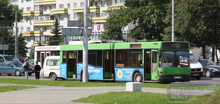 В брестском автобусе по дороге на работу скончался мужчина
