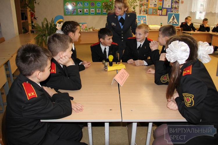 В СШ № 35 создан тематический кабинет по обучению детей ПДД
