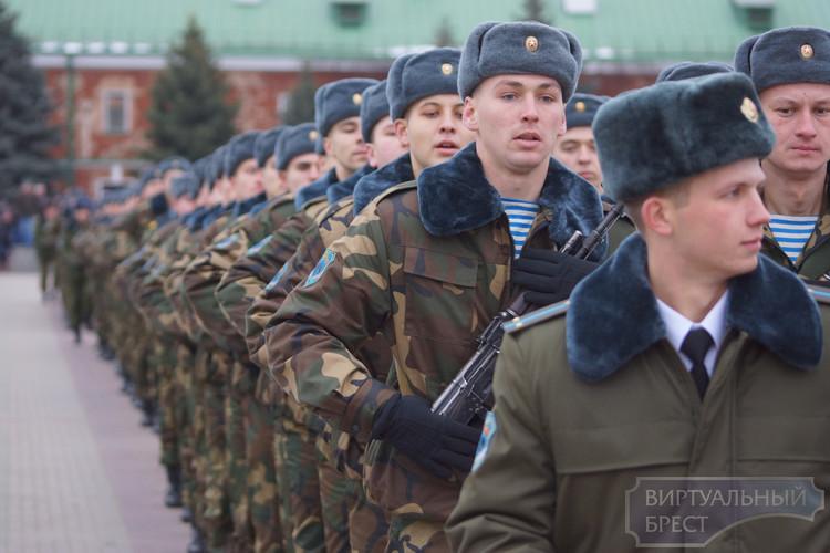 Более 2 тыс. жителей Брестской области пополнят ряды ВС в осенний призыв