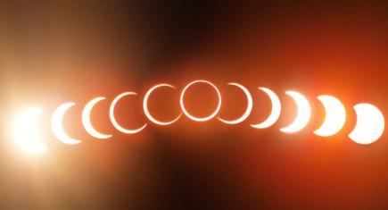 Солнечное затмение - прямая трансляция!