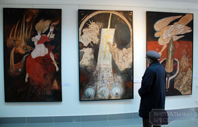 В Бресте открылась выставка «Анджей Струмилло. Живопись»