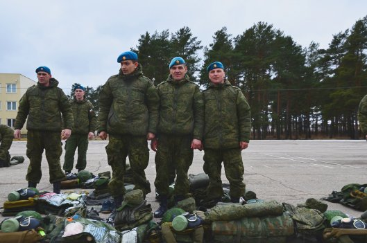 Российские десантники проведут учения в Бресте