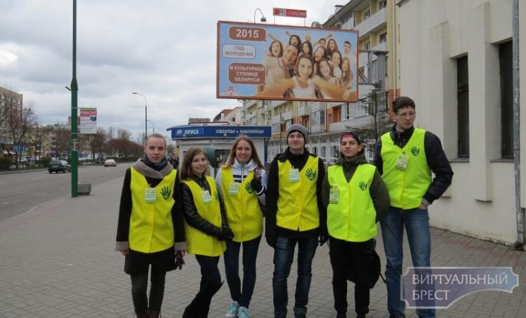 Брестский экопатруль первый раз в этом году вышел на улицы