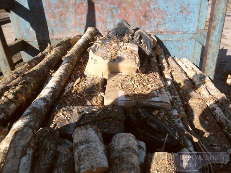 60 тысяч пачек сигарет в вагонах с лесом нашли пограничники