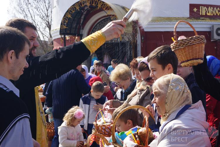 В Бресте  готовятся к Пасхе - великому христианскому празднику