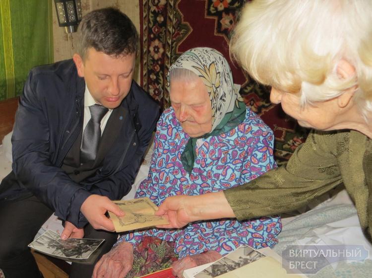 100-летний юбилей отметила брестчанка Акулина Крылова