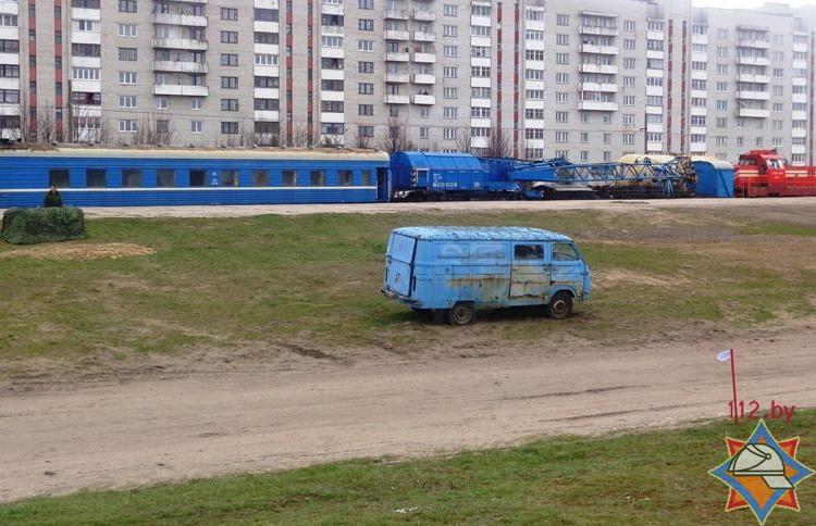 В Барановичах на железнодорожной рампе «Волковысская» прошло ТСЗ