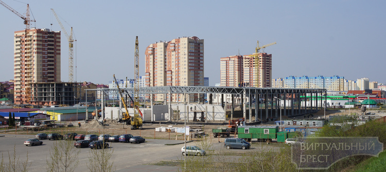 Новый гипермаркет на Варшавке планируют завершить к ноябрю 2016