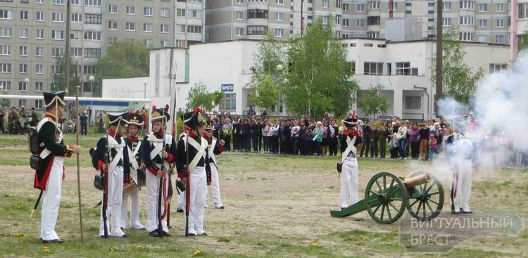 Военно-исторический праздник прошёл в СШ №35 г. Бреста