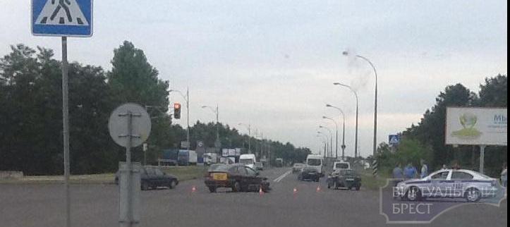 На Л.Рябцева в результате ДТП пострадал водитель мопеда