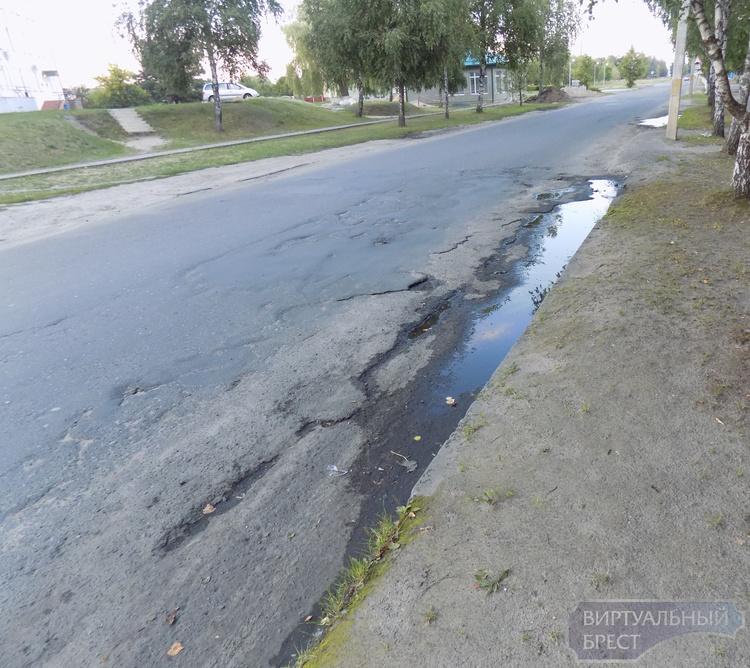 Социал-демократы собрали более 200 подписей за благоустройство улицы в г. Дрогичине