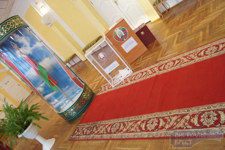 Избирательные участки Бреста и области посетил Мясникович