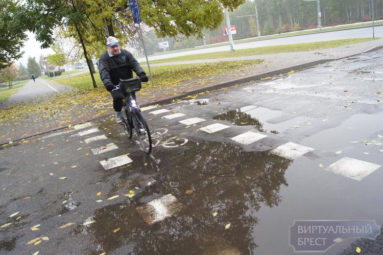 Конфликт велосипедиста и водителя: кто кому должен уступить дорогу на велодорожке?