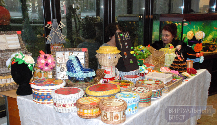 В «Зимнем саду» открылась выставка-ярмарка ремесленников