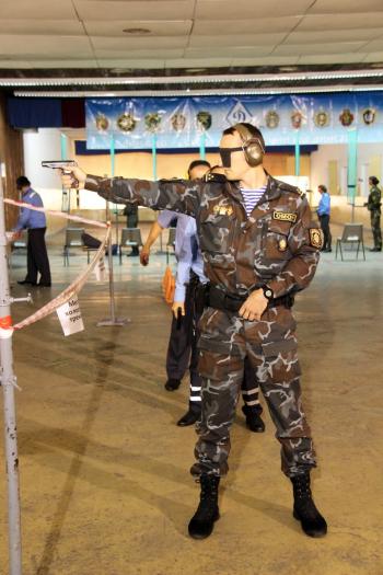 В Бресте прошел чемпионат МВД Республики Беларусь по стрельбе из табельного оружия