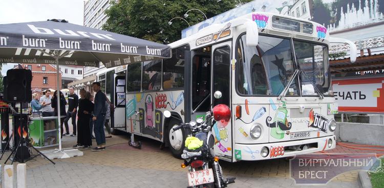 DANDY BUS приехал в Брест и предлагает бесплатную стрижку
