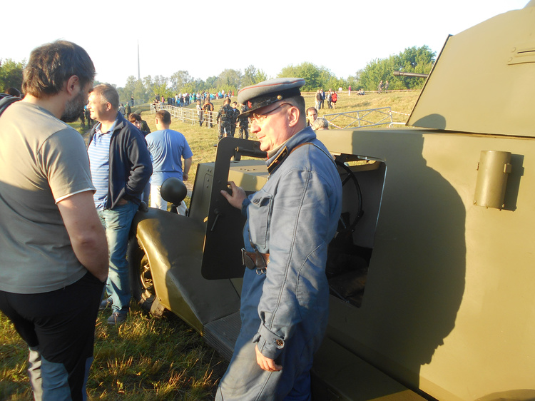 Участники реконструкции «22 июня. Брестская крепость» рассказали, почему участвуют в ней