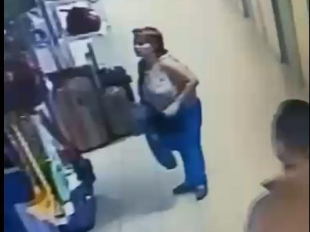 Женщина подозревается в похищении кошелька... Розыск!
