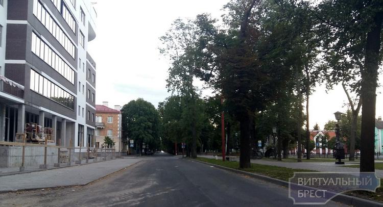 Новый жилой комплекс в исторической части Бреста введут в строй ко Дню города