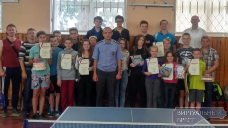 Соревнования по настольному теннису прошли в рамках  7-й летней спартакиады «Сделай правильный выбор»