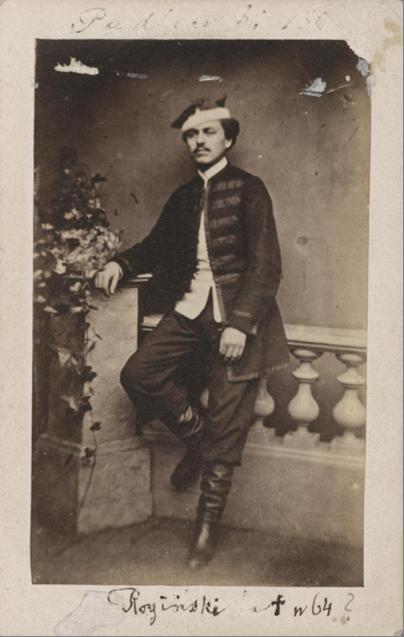 Роман Рогинский и захват Пружан 1 февраля 1863 года