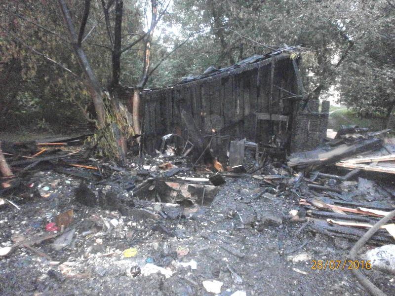 Ночью в Бресте произошли два пожара, пострадало имущество