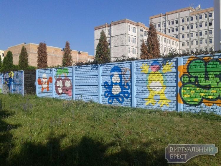В Московском районе г.Бреста состоялся конкурс граффити
