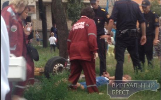 "Опубликовано видео, как ""брали"" горе-десантника в Бресте"