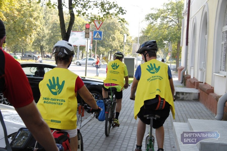 В рамках молодежной инициативы в Бресте стартовал экологический вело патруль
